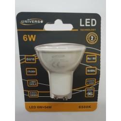 10pz Faretto GU10 LED 6W...