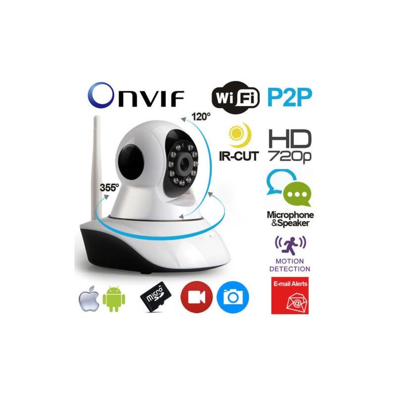 Ip camera robotizzata alta definizione hd720p for Definizione camera