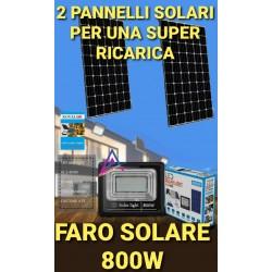 FARO DA 800W LED SMD CON 2...
